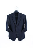 Suit. Male suit without tie isolated on the white Royalty Free Stock Photos