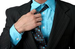 Suit. Part of suit Stock Image