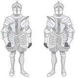 Suit of Armor Royalty Free Stock Photos