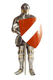 Suit of Armour. Photographed on white royalty free stock photography