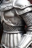 Suit of armour. Close up of body part of suit of armour royalty free stock photography