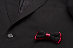 Suit and bow Stock Images