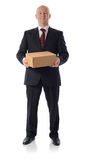 Suit box Royalty Free Stock Photo
