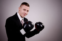 Suit boxing Stock Photos