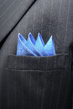 Suit Breast Pocket royalty free stock photos