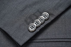 Suit buttons Royalty Free Stock Photos