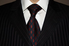 Suit and cravat. Man in suit and cravat Royalty Free Stock Images