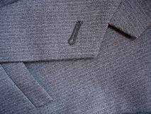 Suit detail. Dress detail Royalty Free Stock Photography