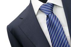 Suit detail on shop mannequins Stock Images
