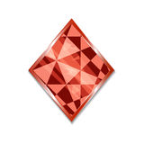 Suit of Diamonds Icon. Vector illustration for graphic projects, Parties, Business, Web. Icon Can be used for Game, Web, Mobile App, Infographics. Game asset Stock Photo