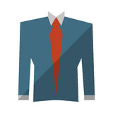 Suit elegant male isolated icon. Vector illustration design Royalty Free Stock Image