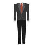 Suit elegant male isolated icon. Vector illustration design Royalty Free Stock Photography