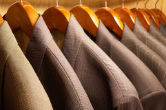 Suit Jackets Stock Image