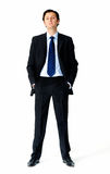 Suit man stock image