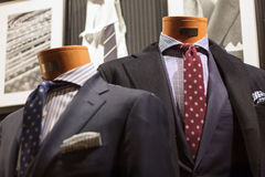 Suit on the mannequin Royalty Free Stock Image