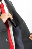 Suit Pocket Royalty Free Stock Image