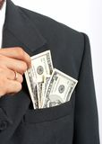Suit Pocket Stock Photography