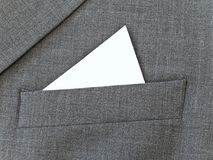 Suit pocket Stock Photos