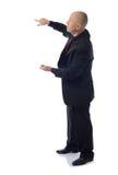 Suit presenting Stock Photo