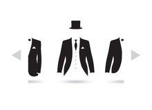 A suit selection Stock Photo