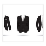 A suit selection Royalty Free Stock Images