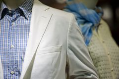Suit and shirt Stock Image