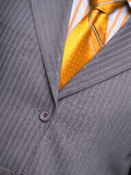 Suit with a shirt and a tie. Man's suit with a shirt and a tie Stock Photography