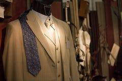 Suit on shop mannequins Stock Photography