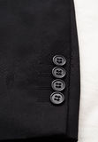 Suit sleeve Royalty Free Stock Image