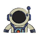 Suit space astronaut image Royalty Free Stock Photos