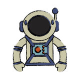 Suit space astronaut image Stock Image