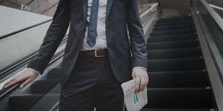 Suit Successful Corporation Confident Business Concept Royalty Free Stock Photo