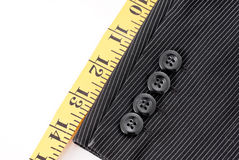 Suit Tailoring Royalty Free Stock Photography
