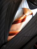 Suit and tie Stock Photos