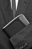 Suit Tie and Folder Royalty Free Stock Photos