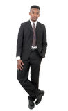 Suit and tie guy isolated business man Royalty Free Stock Photo