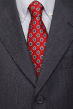Suit and tie, male business attire Royalty Free Stock Image