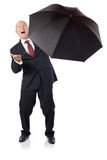 Suit umbrella Stock Photos