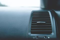 Air deflector panel with switch in the sport car. Suitable for any purpose use Royalty Free Stock Photo