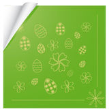 Background with the Easter theme Royalty Free Stock Image