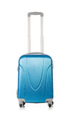 与被隔绝的行李suitacase的旅行概念 图库摄影
