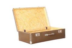 Suitcase. Old suitcase isolated on white background Stock Photo