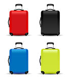 Suitcase. Travel bag tourist Stock Photos