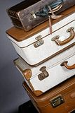 suitcase fotografie stock