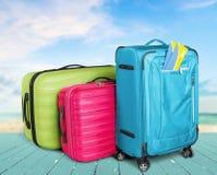 suitcase Fotografia Stock