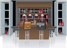 Suitcase bar Stock Photo