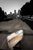 Suitcase in Brisbane Queensland Stock Images