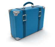 Suitcase (clipping path included) Royalty Free Stock Image