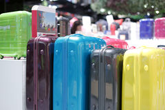 Suitcase counter Stock Images