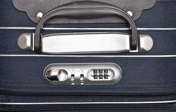 Suitcase handle Stock Photo